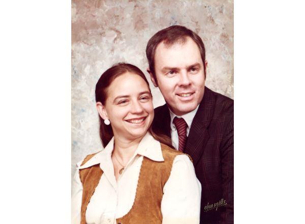 Mark y Cynthia ca. 1990