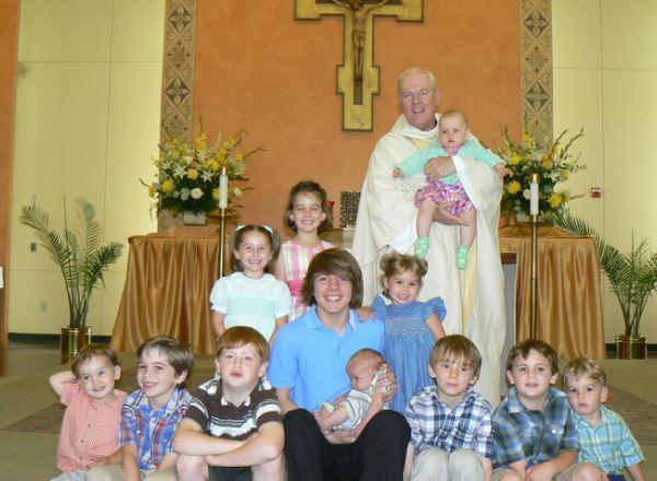 Primera Misa - Con mis nietos