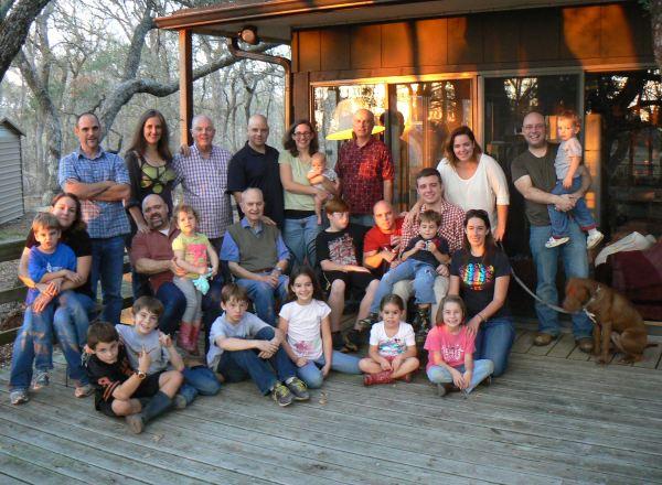 Acción de gracias 2012 - Familia