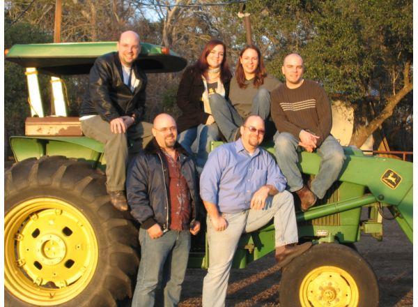Nuestros hijos en la Granja ca. 2005